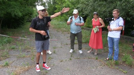 «Зелёный» пресс-тур в Ягорлык