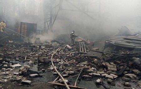 В Рязанской области произошел пожар на пороховом заводе